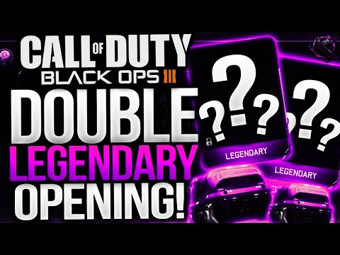 BLACK OPS 3 DOUBLE LEGENDARY SUPPLY DROP OPENINGS! RARE SUPPLY DROP OPENING! (COD BO3)