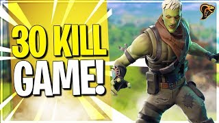 30 KILLS IN 1 FORTNITE POTJE..... / Radiant player / Fortnite battle royale
