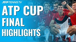 Djokovic, Serbia Defeat Spain To Win First ATP Cup Title! | ATP Cup 2020 Final Highlights