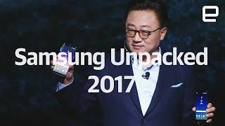 Samsung Unpacked 2017 in under 9 minutes | Galaxy S8 and S8+