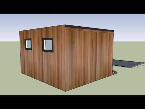 4m x 3m Concave Room design