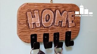Another Diy Wooden Rustic Key Rack