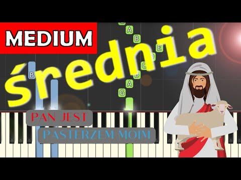 🎹 Pan jest Pasterzem moim - Piano Tutorial (średnia wersja) 🎹