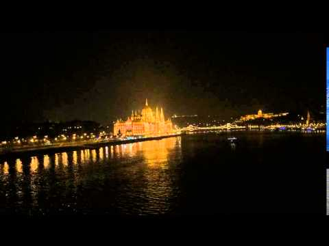 Timelapse Hungarian Parliament Building Budapest