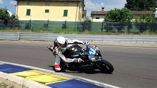 Test Electric Sportbike R6E Team Vercar Moto