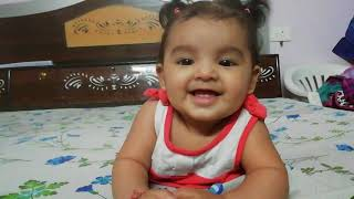 5 Months Baby Activities | Kids random Clicks | Keya the cute baby | #CuteBaby | #Keya