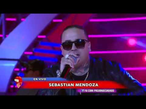Sebastian Mendoza en vivo en Pasion de Sabado 24 3 2018