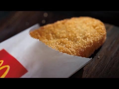 طريقة عمل بطاطس هاش براون ماكدونالز الهشه الذهبيه اللذيذه مثل ماكدونالز بالضبط Youtube