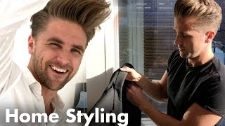 Style your hair at home like a pro - get ready with Emil and Rasmus