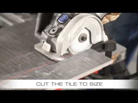 Cutting Ceramic Tile With Dremel Saw Max