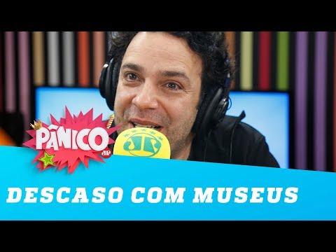 """Marcelo Médici sobre descaso com museus: """"país sem cultura não é nada"""""""