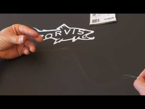 ORVIS - Fly Fishing Lessons - How To Unravel A Fly Fishing Leader