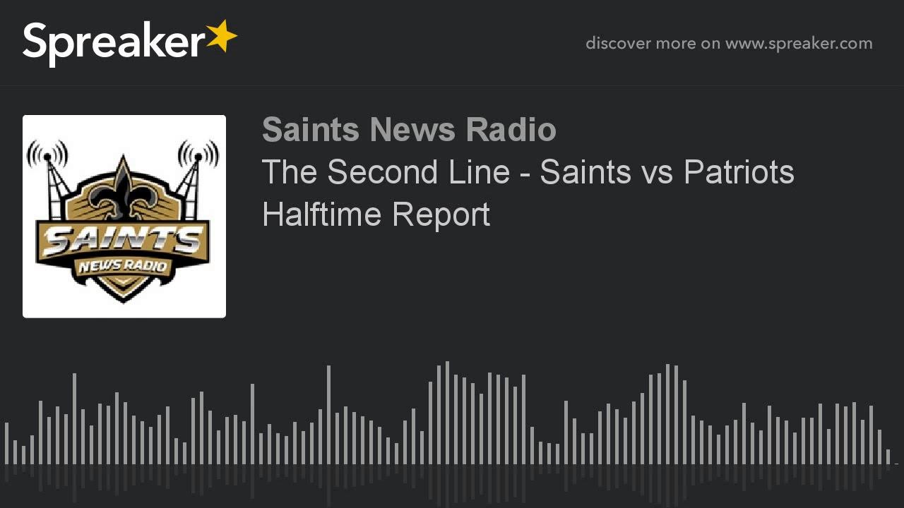 Saints vs. Patriots Halftime Report