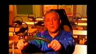 Видео урок экстремального вождения  Упражнение  круг