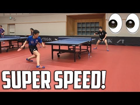 Wonderkid Harimoto | Relentless Topspin Training | Swedish Open 2017!
