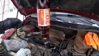 Самостоятельная промывка форсунок на Dodge Caliber 2008 2.0