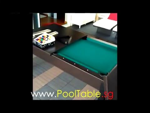 Cover Top 6Ft Pool Table   Convertible To Dining Or Working Table