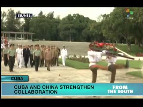Chinese Generals Ends Visit to Cuba