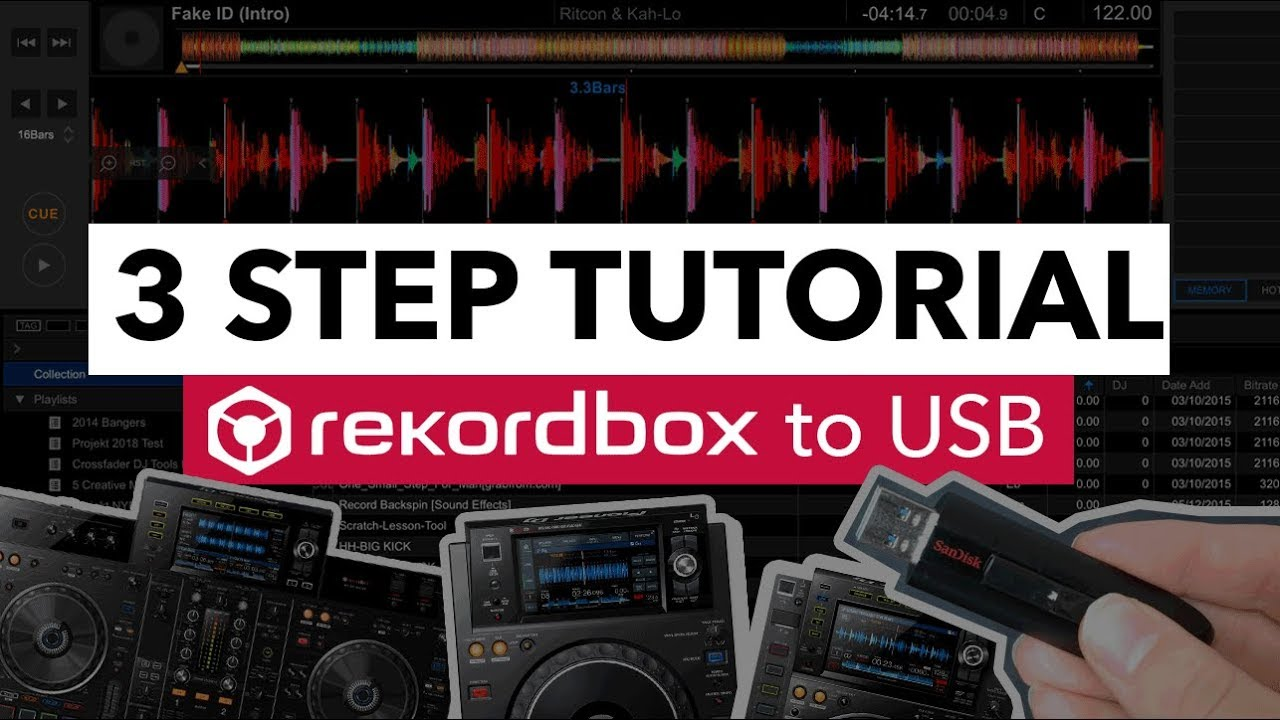 How to Export to USB from Rekordbox - 3 Step Tutorial