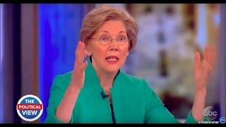 Sen. Elizabeth Warren Weighs In On Trump's First 90 Days, Working With GOP Women & More | The View