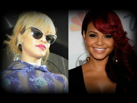 Rihanna Cat-eye Glasses + Christina Milian New BOMB Hair Colour #TWIF