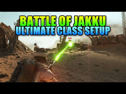 Best Jakku Loadout - Ultimate Sniper Class With Pulse Cannon | Star Wars Battlefront Gameplay