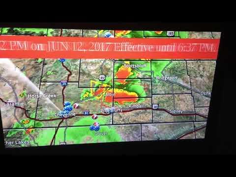June 12, 2017 - TV EAS Tornado Warning - Wyoming/Nebraska