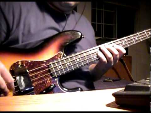 The Beatles - Hey Jude - Love Version Bass riff cover