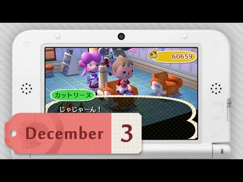 Video Journal - Animal Crossing: New Leaf (Dec.3.2012)