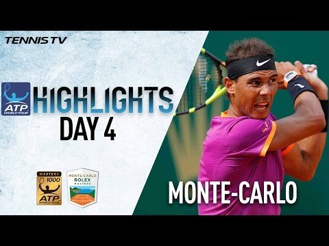 Monte-Carlo Highlights: Nadal, Murray, Wawrinka Advance On Wednesday
