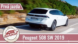 Peugeot 508 SW TEST 2019: Dizajnovo nadupaný kombík
