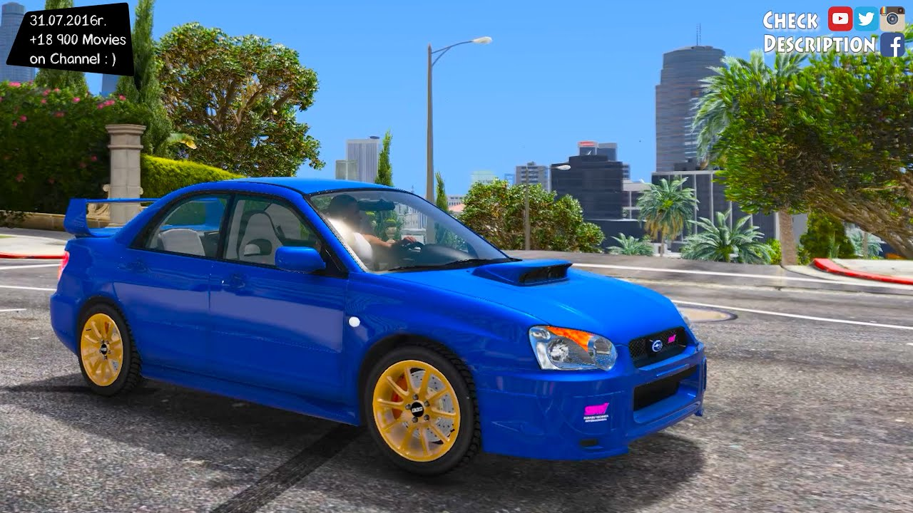 Subaru impreza wrx sti 2004 gta v mod 27k 1440p youtube subaru impreza wrx sti 2004 gta v mod 27k 1440p vanachro Choice Image