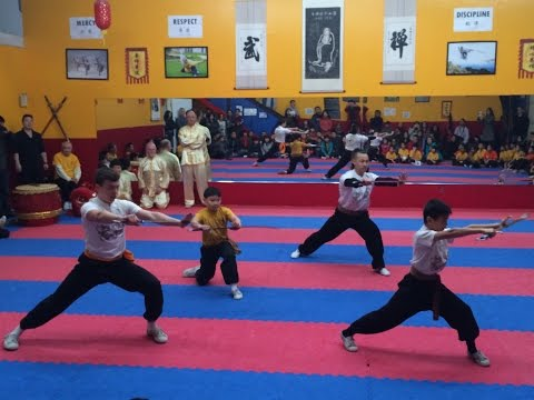 2015 Seattle Shaolin Kungfu Academy Students Annual Performances