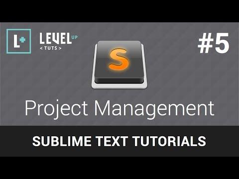 Sublime Text Tutorials #5 - Project Management