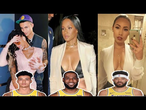 Los Angeles Lakers Players Wives and Girlfriends 2020