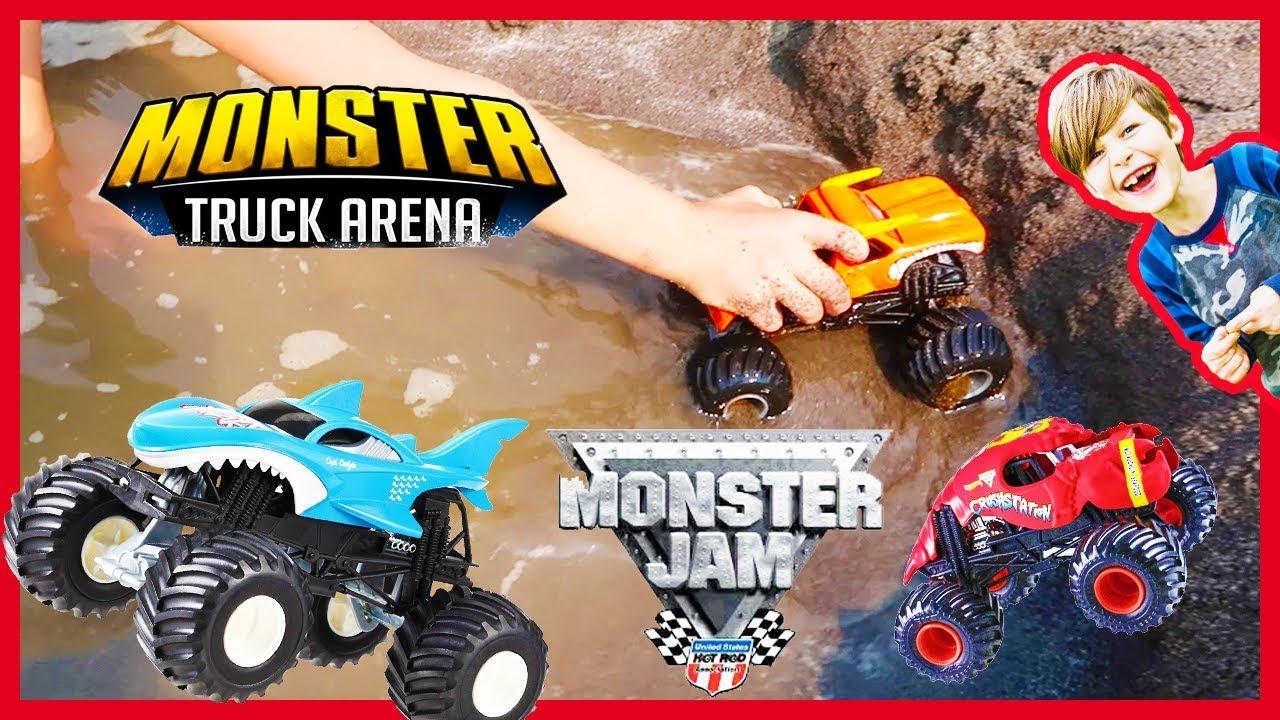 Beach Monster Truck Arena Youtube
