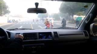 Morning Traffic into Trina Solar Changzhou Factory