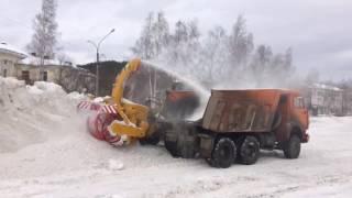 Снегоуборочный шнекоротер Nichijo NRT-5S