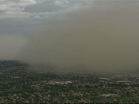 Dust Cloud Rolls Over Phoenix