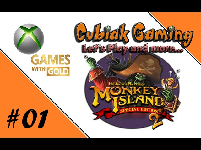 Let's Play Games with Gold - Monkey Island 2 SE #01