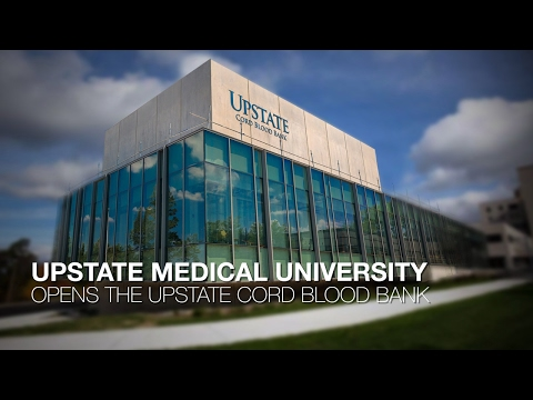 Upstate Medical University-The Upstate Cord Blood Bank