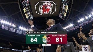 HIGHLIGHTS: Men's Basketball vs. Norfolk State — 11/13/18