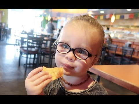 Our child drinks salsa!