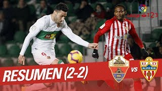 Resumen de Elche CF vs UD Almería (2-2)