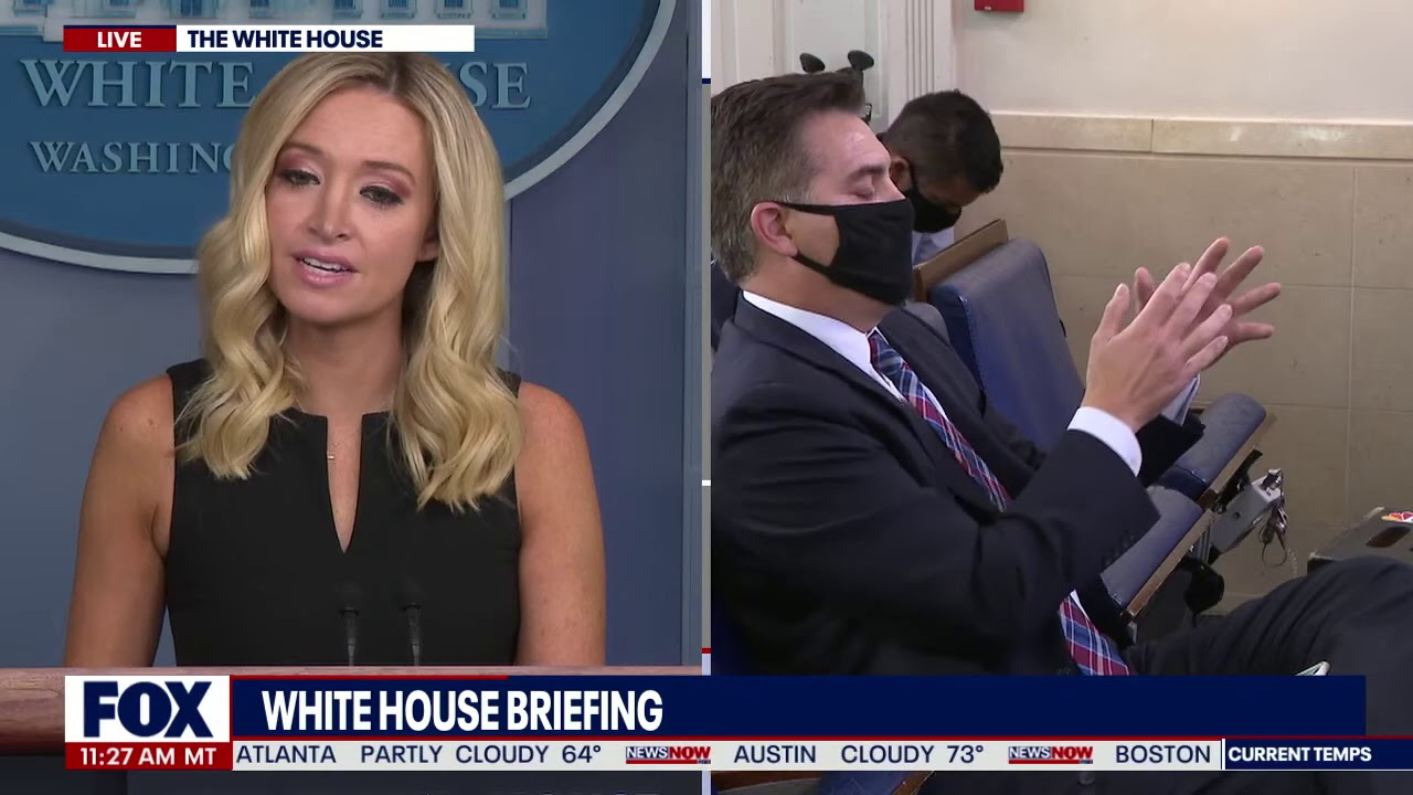 YOU DON'T KNOW: Kaleigh McEnany TAKES ON Jim Acosta During White House Briefing