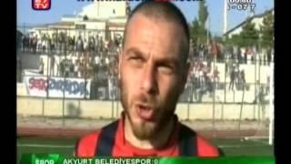 Akyurt Belediye Spor - Zonguldak Kömür Spor  Maç Özeti - 14 Ekim 2012 Pazar - Saat : 14:30 Akyurt İlçe Stadı.