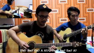 Gambar cover DEPAPEPE - Kiss [Full Cover+ChordSub] by Arief & Ridhwan