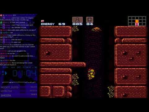 Super Metroid Any% Race / SRL Wr 41:30