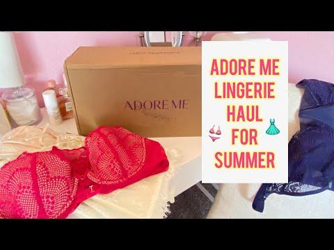 Adore Me Summer Lingerie Haul   All Things Sam