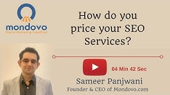 How do you price your SEO Services? SEO Pricing Model - How to structure your Pricing